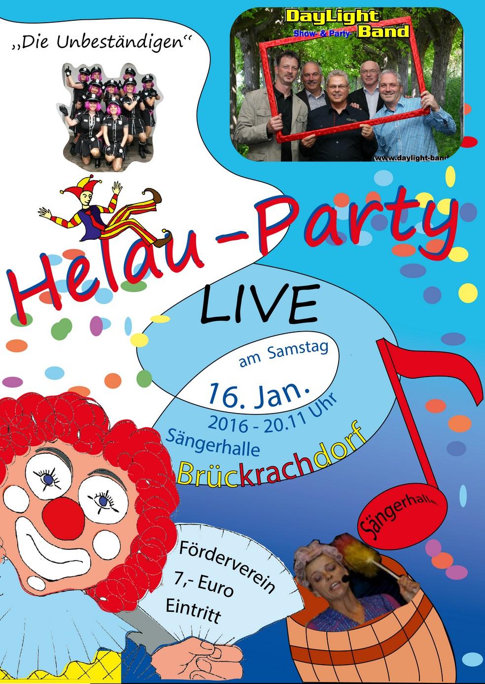 Helau-Party 2016