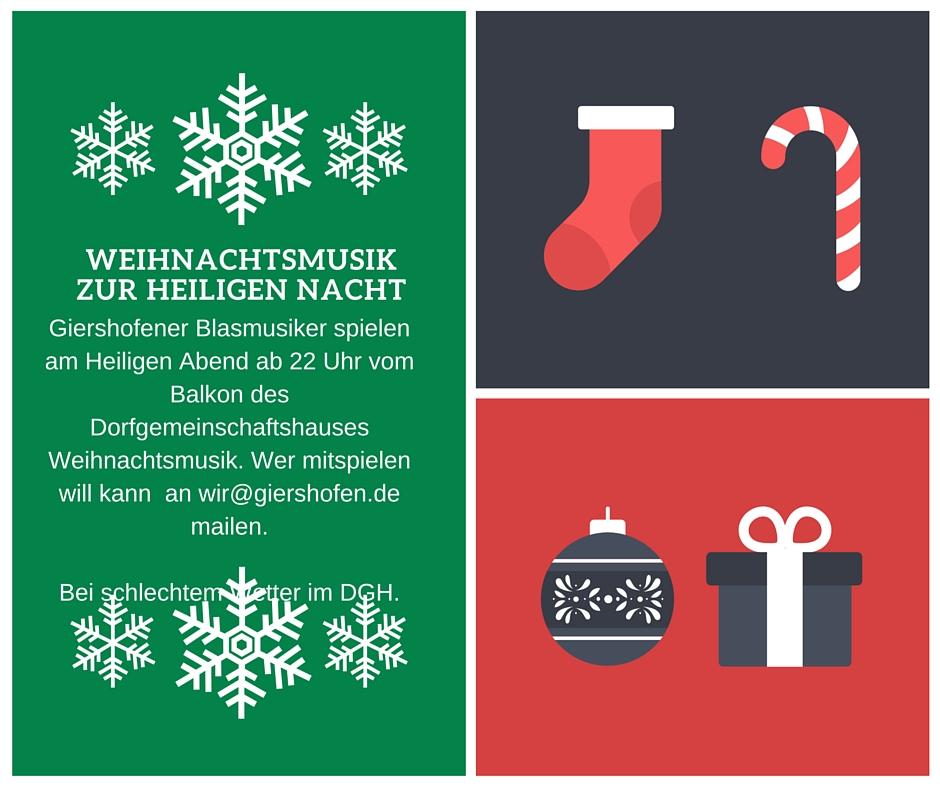 Giershofen - Weihnachtslieder zu Heiligen Nacht
