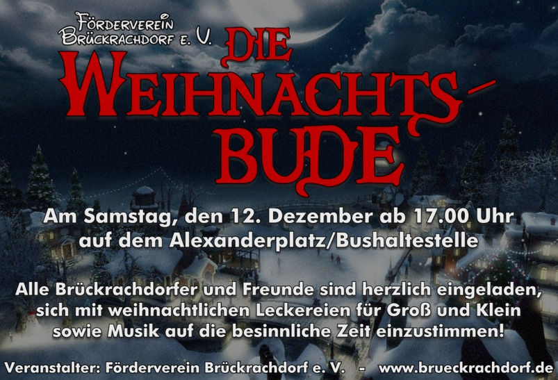 Weihnachts-Bude
