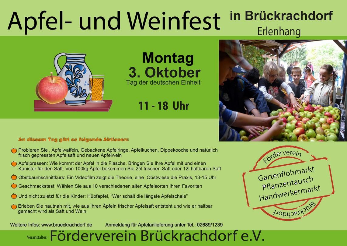 Apfel- und Weinfest 2016